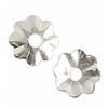 "SS.925 Bead Cap 4.5mm .045""/ 1.1mm Hole (Approx 1.55gms)"